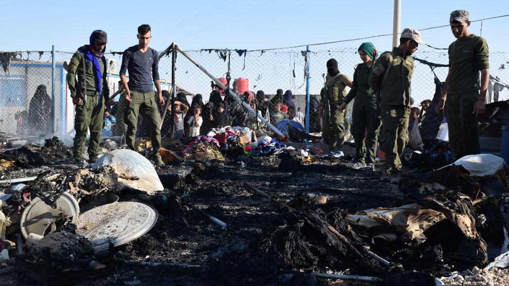 Союзники США устроили «лагерь смерти» на северо-востоке Сирии